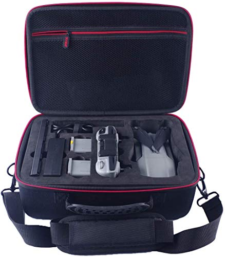 Skyreat Mavic Air 2 Tasche Portable Handtasche Tragetasche Kompatibel mit DJI Mavic Air 2 Fly More Combo Drone,Passend für Fernbedienung,2 Batterien, Adapter und Zubehör