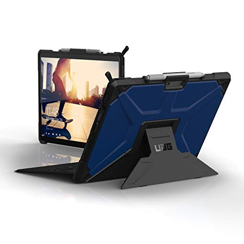 URBAN ARMOR GEAR UAG Microsoft Surface Pro X Metropolis Feather-Light Rugged [Cobalt] Military Drop Tested Case