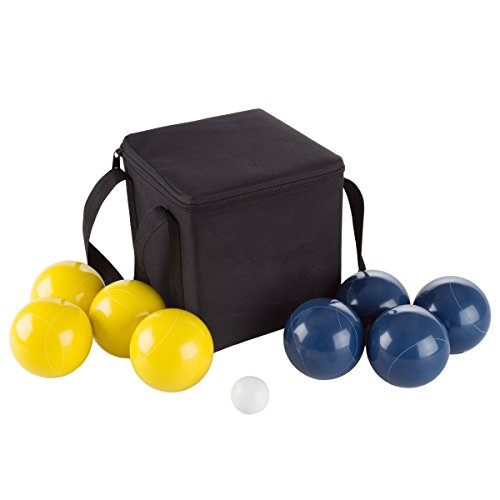 Hey! Play! 80-76090 Bocce Ball Set- Outdoor Family Bocce Game for...