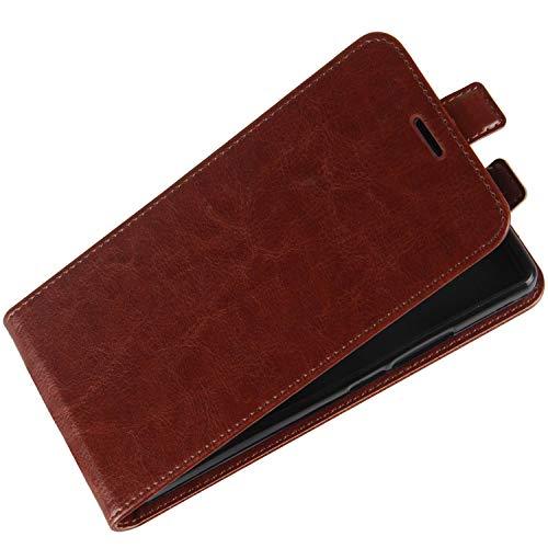 HualuBro Oppo Reno 4 Pro 5G Hülle, Premium PU Leder Brieftasche Schutzhülle HandyHülle [Magnetic Closure] Handytasche Flip Hülle Cover für Oppo Reno 4 Pro 5G Tasche (Braun)