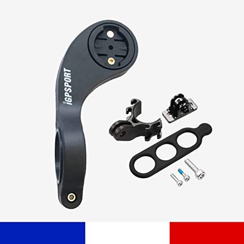 IGPSPORT S80 - Support déporté GPS et Caméra pour Ordinateur de Vélo iGS620-iGS618-iGS50E-iGS20E-iGS130 et pour GARMIN