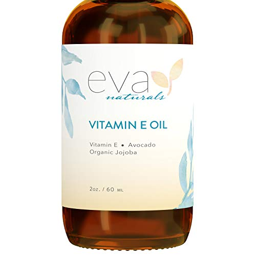 Vitamin E Oil for Skin Care – XL 2 Oz. Plant-Based Face Oil by Eva Naturals