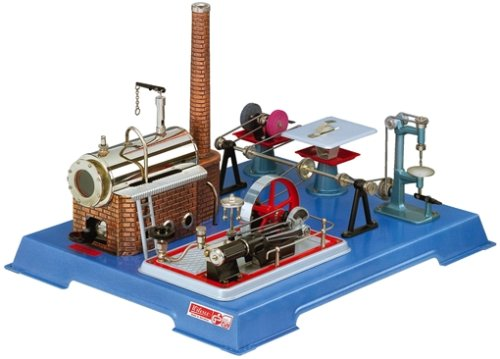 00161-Wilesco D 161-Steam Engine with Workshop by Wilesco