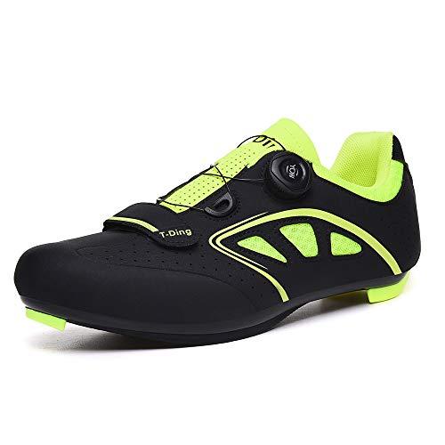 YZT QUEEN Fietsschoenen, heren en dames racefietsschoenen, antislip professionele mountainbike schoenen