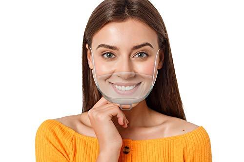 WIETRE® 10 Stück Gesichtsschutzschild Safety Kunststoff Transparent Visier Gesichtsschutz + 1 Gratis Handreinigungstuch | Anti-Fog Anti-Öl Splash Schutzvisier - Essen Hygiene Gesichtsschutzschirm