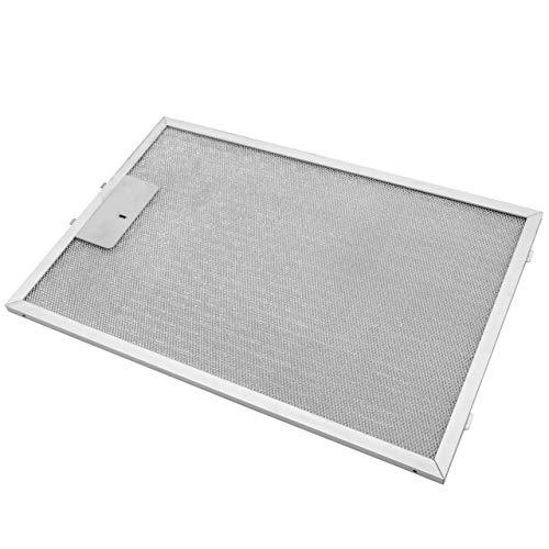 vhbw Filter Metallfettfilter, Dauerfilter 38,8 x 26,5 x 0,9cm passend für Bosch DWB 09 W652, 09 W850 Dunstabzugshaube Metall