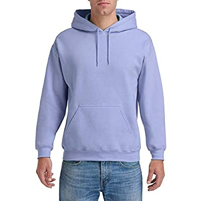 Gildan Heavy Blend Adult Unisex Hooded Sweatshirt/Hoodie (XL) (Violet) from Gildan