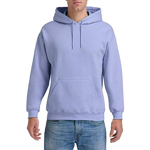 Gildan Heavy Blend Unisex Kapuzenpullover / Hoodie / Kapuzensweater L,Violett
