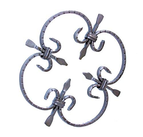 UHRIG ® NEU! Schmiedeeisen Ornament Gitter Fenstergitter Stahl Eisen geschmiedet #551