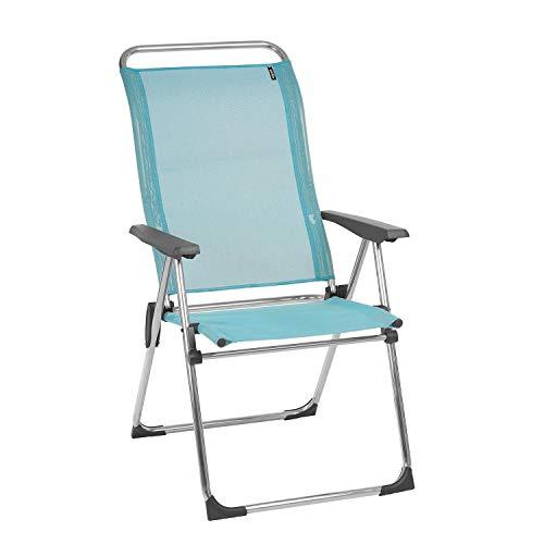 Lafuma Silla plegable compacta portátil, ALU CHAM, Batyline, Azul claro, LFM2772-8558