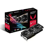 ASUS Arez Strix Radeon Rx Vega56 8GB OC Edition VR Ready 5K HD Gaming DP HDMI DVI AMD Gaming Graphics Card Graphic Cards AREZ-STRIX-RXVEGA56-O8G-GAMING