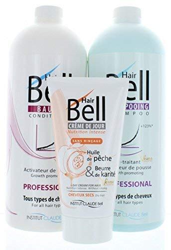 HairBell Shampoo + Conditioner + HairCream intensiv PRO wie HairJazz/HairPlus
