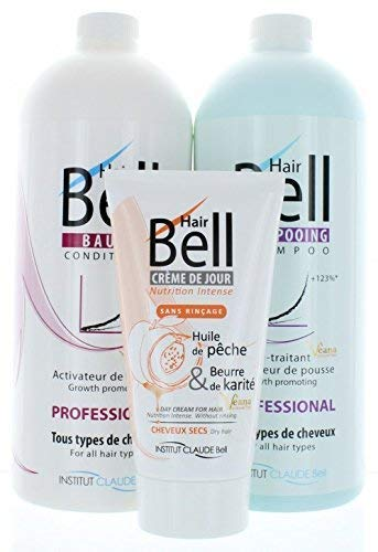 HairBell Shampoo + Conditioner + HairCream intensiv PRO wie HairJazz/HairPlus