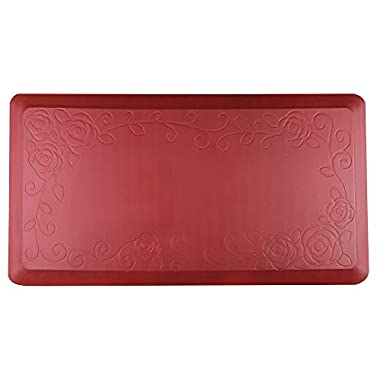 Cook N Home Anti-Fatigue Comfort Mat, 39 x 20 , Red, 3/4  Thickness