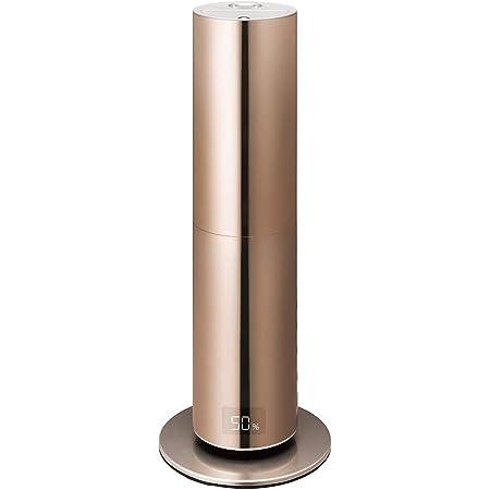ドウシシャ 加湿器 ハイブリッド式 クレベリンLED搭載 カンタン給水 除菌 シャンパンゴールド