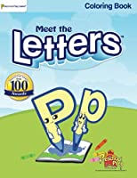 Meet the Letters - Coloring Book 0982033109 Book Cover