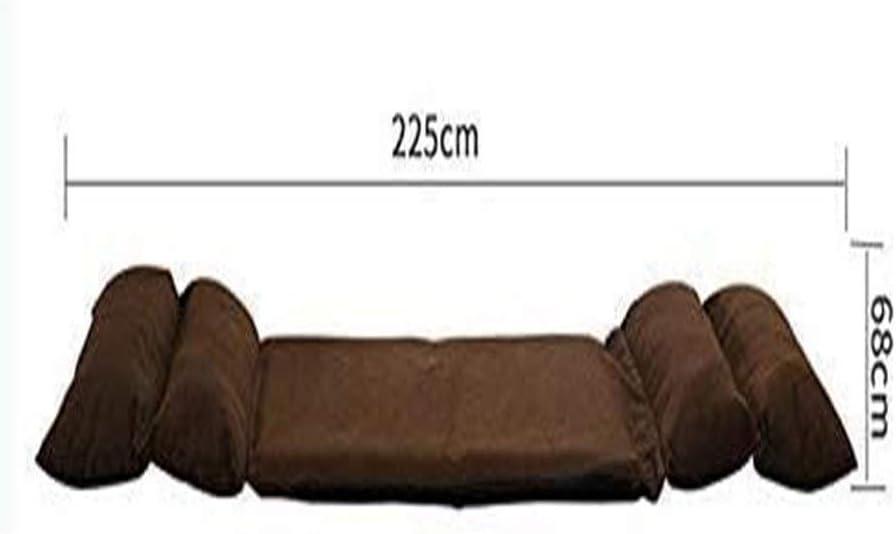 HLR Chaise de méditation Chaise pour Yoga Lazy Canapé Pliant Simple Appartement Chambre Petit Canapé-lit Chaise Bean Bag Mignon Seat Chaise de Plancher (Color : C) D