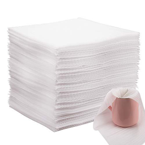 AIEX 100 Pezzi Packing Foam Wrap Sheet Fogli Schiuma Materiale da Imballaggio per Piatti, piatti, bicchieri, tazze
