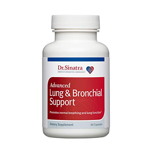 Dr. Sinatra's Advanced Lung & Bronchial Support Supplement for Lung Health Support, Clear Breathing and Respiratory Function (60 Capsules, 30-Day Supply)