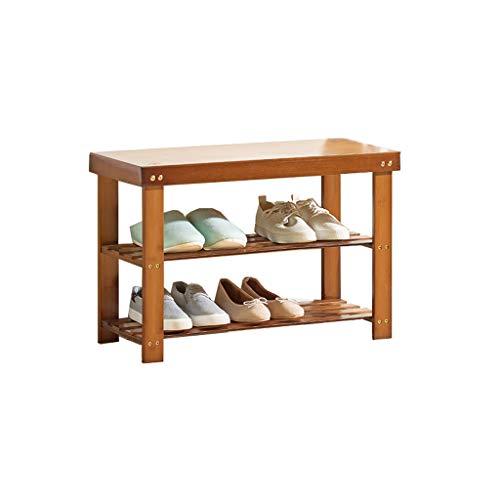 GLJJQMY Zapatero Minimalista Moderno a Prueba de Polvo gabinete de Calzado Multiusos Engrosamiento hogar Dormitorio Zapato Doble Bastidor de Zapatos Banco 70x30x45cm Zapatero