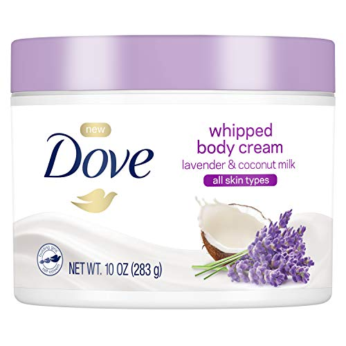 Dove Whipped Lavender and Coconut Milk Body Cream 10 oz