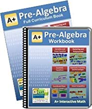 Curriculum Bundle - Pre-Algebra (7th or 8th Grade) Math Textbook (117 Lessons) & Workbook (117 Worksheets, 16 Tests and Answer Keys) - For Homeschooling or Classroom