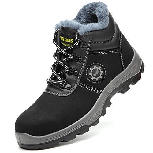 Zapatos de seguridad Botas de seguridad de la tapa del punta de acero, botas impermeables livianas para mujer, botines de seguridad de los hombres, zapatillas de seguridad de la prueba de punción zapa