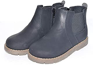 SandQ baby Boys Black High Top Boots