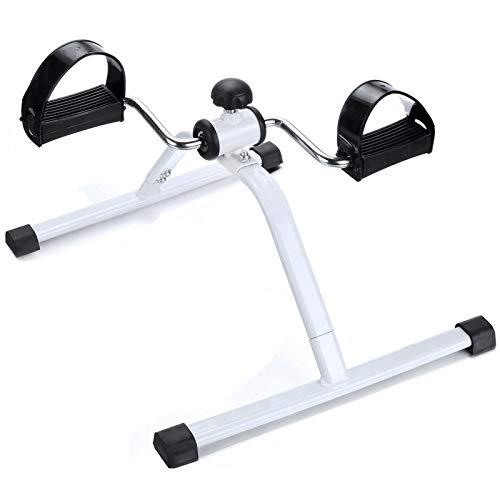 Bicicletas ejercitador de pedales 50 * 40 * 28 cm Mini bicicleta estática Pedal de sillón de resistencia ajustable para entrenamiento de rehabilitación de piernas,regalo,Exercise bikes,50x40x28cm