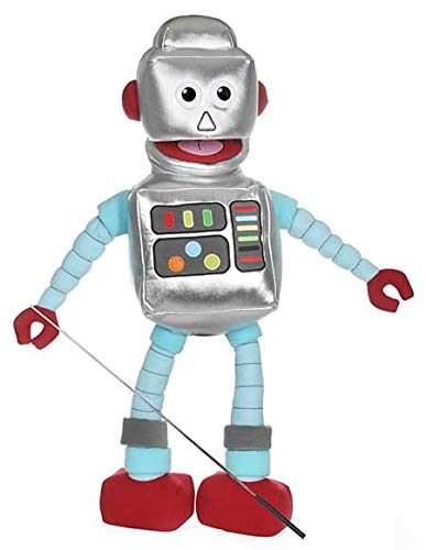 Robot de 25 pulgadas, cuerpo completo, títere de estilo ventrilocuo