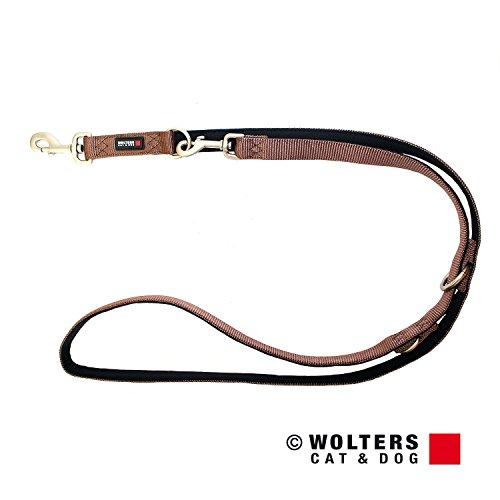 Wolters | Führleine Professional Comfort in Tabac/Schwarz | L 200 cm x B 20 mm