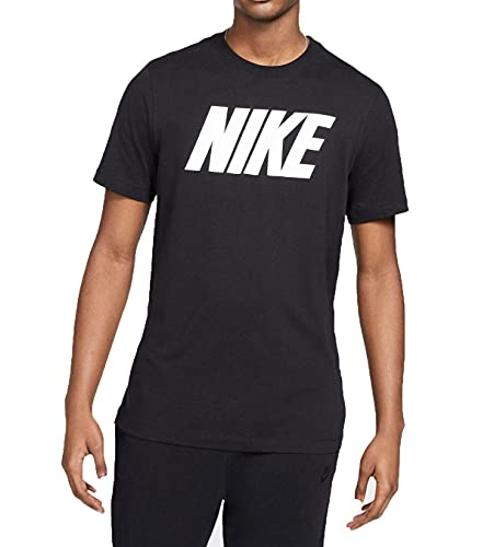 Nike Sportswear T-Shirt Homme, Noir Blanc, M