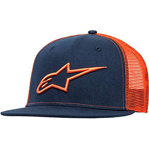 Alpinestars Herren Corp Trucker Hat, Navy/Orange, One Size