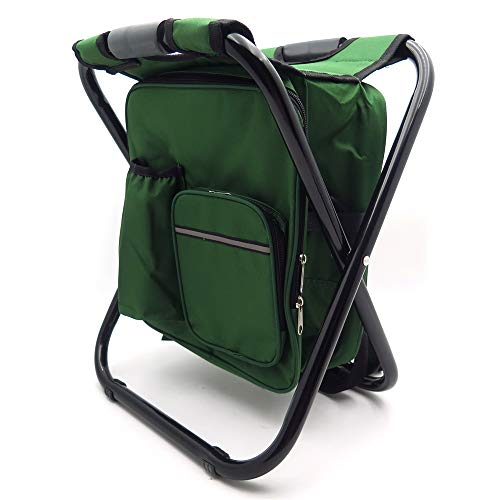 HTTMT - Portable Folding Camping Fishing Chair Stool Travel Backpack Beach Bag Sale [Item Number: ET-Seat001]