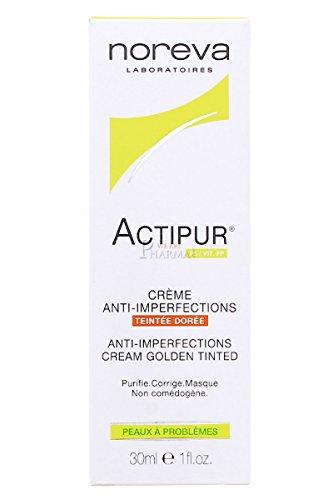 Noreva Actipur - Getönte Creme für unreine Haut - Dunkler Teint (1 x 30 ml)
