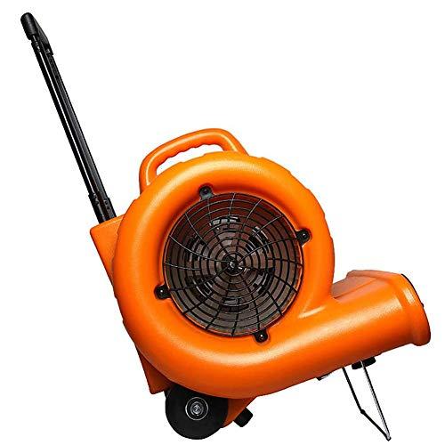 Blower 220V Ventilatore centrifugo 3200W Ventilatore per Hotel ad Alta Potenza Asciugacapelli Tappeto Doppio/Sei Caldo e Freddo Regolabile, Leva a rulli per Un Facile Spostamento