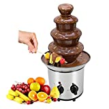 Fuente de Chocolate Cascada Profesional | Potencia 170 W, Diseño...