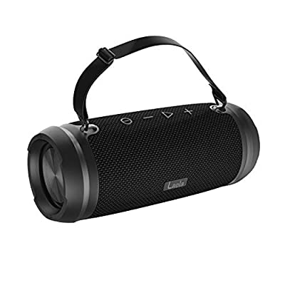 Laola Bluetooth Speaker ROAR with Ultra Deep Base,Portable Speaker with IPx6 Water Resistant with Powerbank function & Hands-free Calls with 13 Hour Battery Life. from Laola