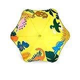 Actual Sonnenschirm, abgerundet, für Kinder mit langem Griff, für Damen und Herren, Sicherheit bei Regen und Regen, gelb (Gelb) - 39355