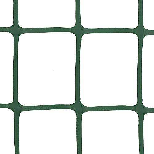 Rete per Rampicanti, Tenax Corolla, 0,50x5 m verde, Rete in Plastica per Sostegno Piante e Fiori
