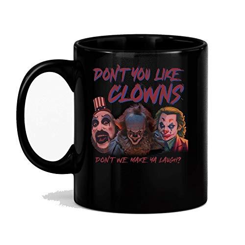 AOOEDM Mugs Don_t You Kike Clowns Don_t Wir bringen dich zum Lachen Becher den_09 MUG 11oz