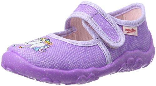 Superfit Bonny, Zapatillas de Estar por casa Niñas, Morado (Lila), 25 EU