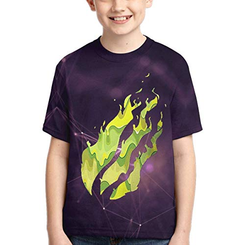 YYTY Cute Pre-St-On T Shirt Kids Youth Summer Summer Girocollo T Shirt Fashion T-Shirt Manica Corta per Ragazzi