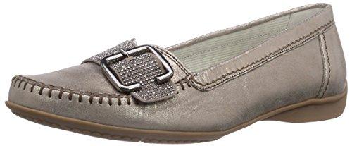 Gabor Shoes 22.523.62 Damen Mokassin, Gold (Mutaro), Gr. 37