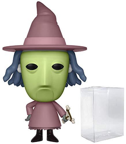 Funko Pop! Disney: The Nightmare Before Christmas - Figura de vinilo con funda protectora de Pop Box