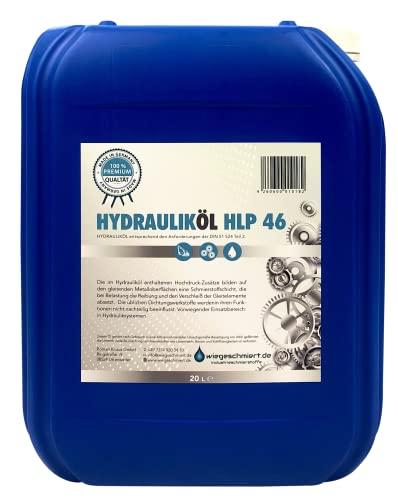 Hydrauliköl HLP 46 ISO VG 46 Nach Din 51524 Teil 2 (20 Liter)