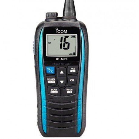 Icom ic-m25 Euro VHF, Color Azul