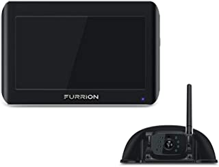 Furrion Vision S 5 inch Sharkfin Camera Wireless RV Backup System with Infrared Night Vision and Wide Viewing Angle - FOS0...