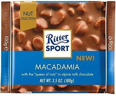 Ritter Sport Macadamia 100gr / 3,53 Unzen x11