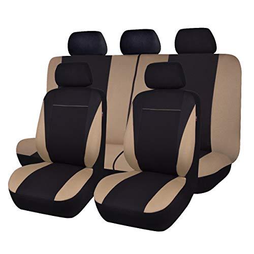 gris Universal Sitzbezüge Housse De Siège Auto Housses de protection Elegance p4 Volkswagen Up
